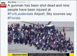 Φλόριντα, αεροδρόμιο, 1 νεκρός, τραυματίες,