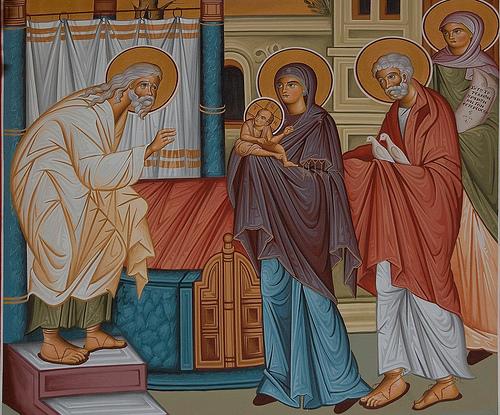 Απολυτίκιο της ημέρας: Δίκαιος Συμεών ο Θεοδόχος και Άννα η  Προφήτιδα(βίντεο) | Newspepper