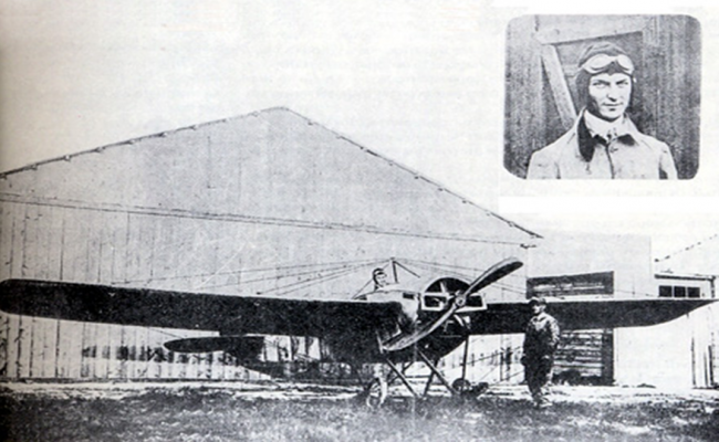 σαν σήμερα, Εμμανουήλ Αργυρόπουλος, πρώτος Έλληνας αεροπόρος,