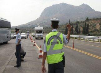 Διακοπή της κυκλοφορίας στην παλαιά εθνική οδό Ελευσίνας – Θήβας λόγω της κακοκαιρίας