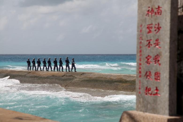 Νότια Κίνα, νευρικότητα, θάλασσα,