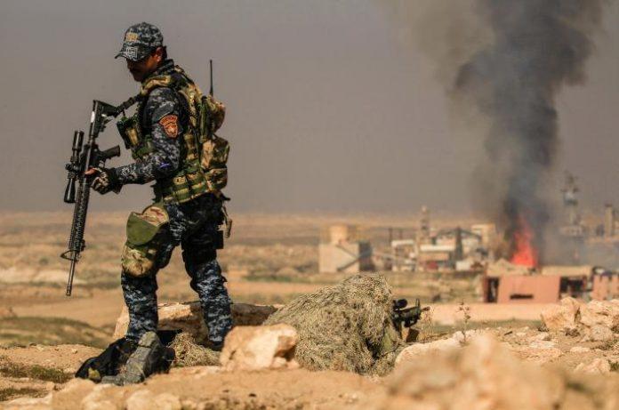 Ιρακινές δυνάμεις, αεροδρόμιο, Μοσούλη,