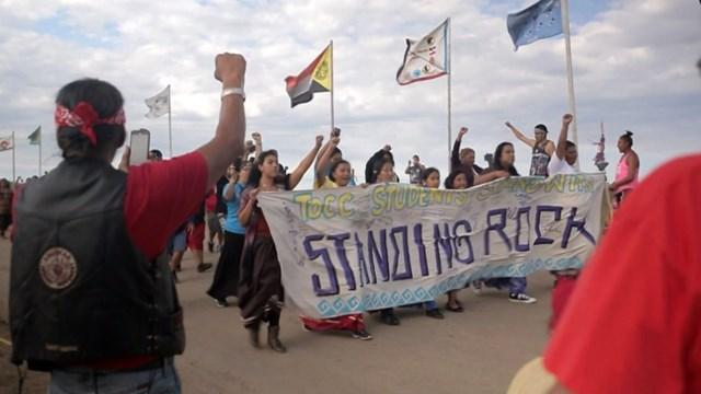 βόρεια Ντακότα, αγωγός, κατασκήνωση, αντίστασης,