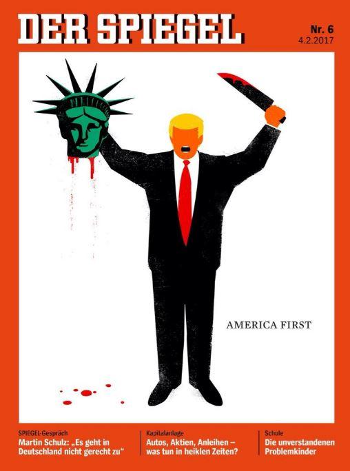 Spiegel, τζιχαντιστής, Τραμπ,