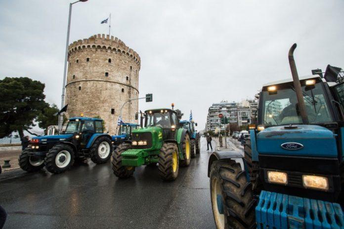 αγρότες, Λευκό Πύργο, Ελλάδα,