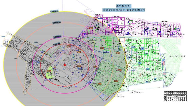 Κορδελιό, ΒΟΜΒΑ, διαδραστικός χάρτης,
