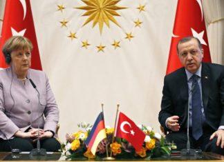 Μέρκελ, Ερντογάν, ελευθερία, Τύπου, έκφρασης,