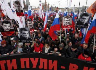 Ρωσία, διαδήλωση, Νεμτσόφ,