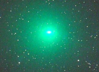 """""""πράσινος"""", κομήτης, γη,"""