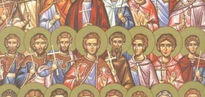 Αποτέλεσμα εικόνας για Άγιοι Τεσσαράκοντα δύο Μάρτυρες από το Αμόριο