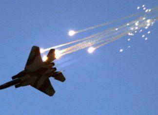 Ισραηλινά αεροσκάφη έπληξαν με πυραύλους συριακές δυνάμεις νότια της Δαμασκού