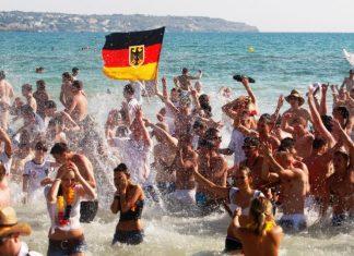Die Welt, Γερμανοί, τουρίστες,