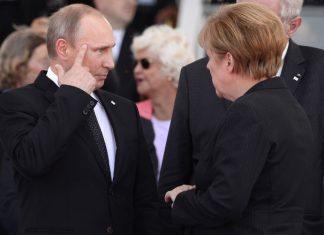 συνάντηση, Μέρκελ, Β.Πούτιν,