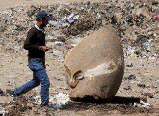 Αίγυπτος, άγαλμα, Ραμσή Β΄,
