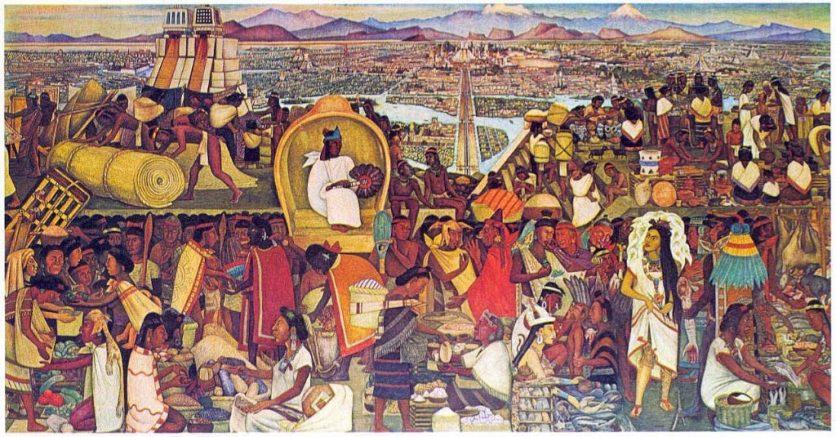 Ντιέγκο Ριβέρα, τοιχογραφίες, Φρίντα Κάλο,