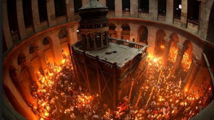Ιεροσόλυμα - Μεγάλο Σάββατο: Η Τελετή Αφής του Αγίου Φωτός