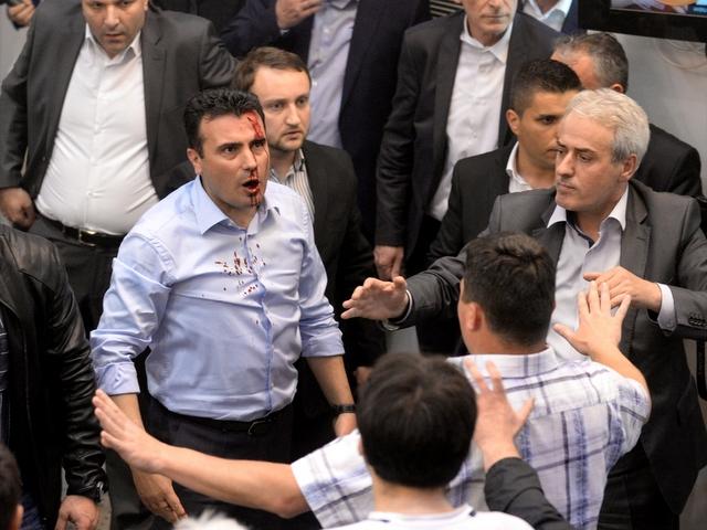 πΓΔΜ: Σύσκεψη πολιτικών αρχηγών