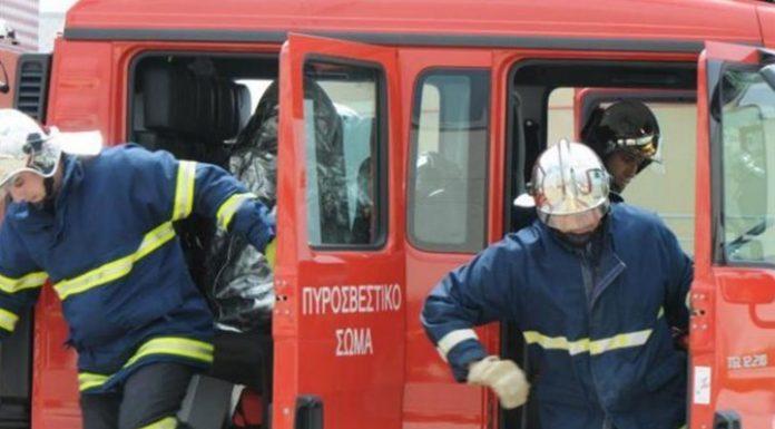 Ασπρόπυργος: Μεγάλη φωτιά σε εργοστάσιο