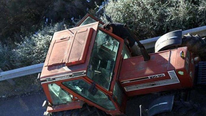 Πατέρας πέντε παιδιών καταπλακώθηκε από τρακτέρ