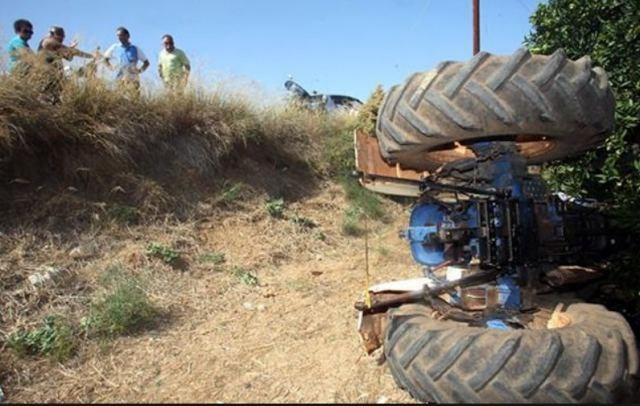 Αγρότης καταπλακώθηκε από το τρακτέρ του