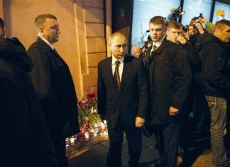 λουλούδια, Πούτιν, σταθμό, Αγία Πετρούπολη,