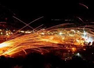 Χίος, ρουκετοπόλεμος,