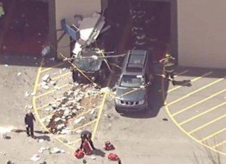 Βοστώνη, όχημα, πλήθος, 10 τραυματίες,