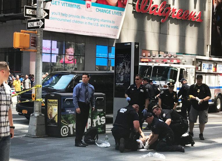 Νέα Υόρκη, Times Square, νεκρός,