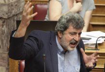 Financial Times: Ο Τσίπρας στηρίζει τον φίλο του Πολάκη κατά Κυμπουρόπουλου