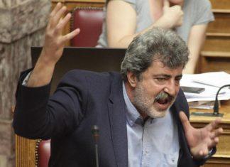 """""""Μπάχαλο"""" στη Βουλή από τον Πολάκη"""
