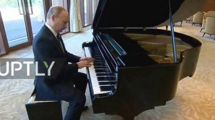 Πούτιν, πιάνο,