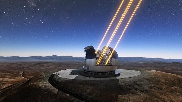 Το τηλεσκόπιο ΕΗΤ αποτελείται από ένα ευρύ δίκτυο διάσπαρτων τηλεσκοπίων σε διάφορα μέρη του κόσμου