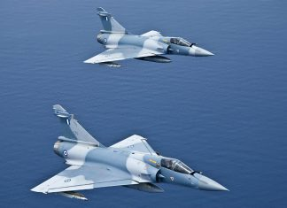 Διάσωση, πιλότος, Mirage 2000,