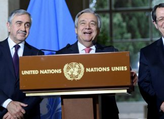 Κυπριακό, Γκουτέρες, ΟΗΕ,