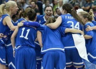Εθνική ελλάδας, Μπάσκετ, γυναικών, Βέλγιο,
