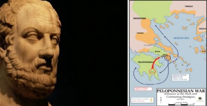 Θουκυδίδης, προέλευση, Ελλήνων,