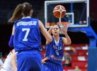 Εθνική Ελλάδας, γυναικών, Μπάσκετ, Γαλλία,