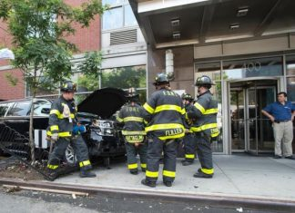 Νέα Υόρκη, Βαν, πεζούς, τραυματίες,