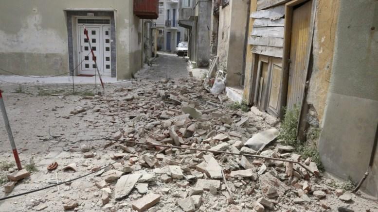 Μυτιλήνη, σεισμός, νεκρή, Βρισά,