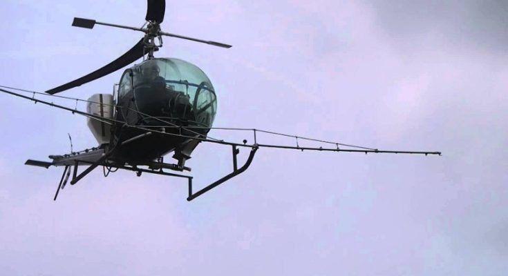 Σχοινιάς, δύο νεκροί, ένας τραυματίας, ψεκαστικό ελικόπτερο,