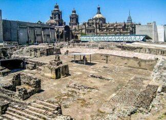 ανακάλυψη, Μεξικό, ναός, Ατζέκων,