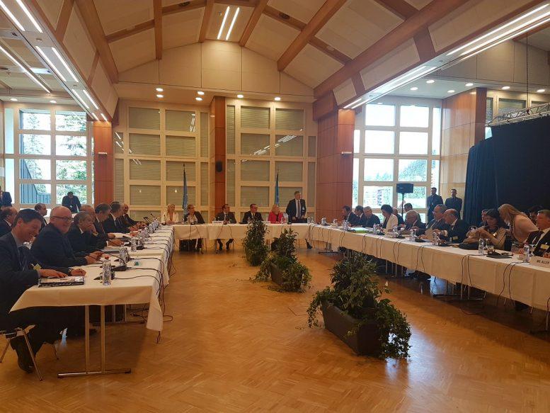 Ελβετία, πρωθυπουργοί, Κραν Μοντάνα, Κυπριακό,
