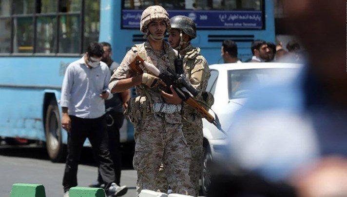 Τεχεράνη, δυνάμεις ασφαλείας, Εγκέφαλος, επιθέσεων,