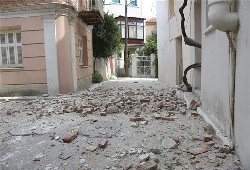 Μυτιλήνη, σεισμός, νεκρή, τραυματίες,