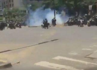 Βενεζουέλα, τραυματίστηκαν, αστυνομικοί,