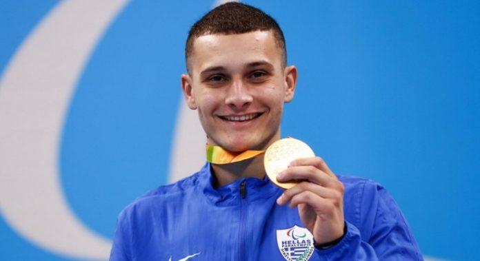 Χρυσό μετάλλιο ο Δημοσθένης Μιχαλεντζάκης με πανελλήνιο ρεκόρ στην κολύμβηση