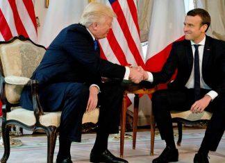 ΓΑΛΛΙΑ: Τραμπ και Μακρόν συμφώνησαν στο θέμα της άμυνας