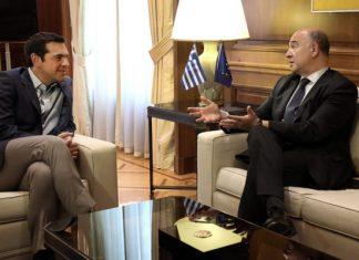 Μοσκοβισί: Βούληση της Κομισιον η επιστροφή της Ελλάδας στην κανονικότητα