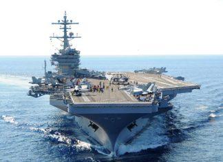 Άσκηση αεροπλανοφόρου των ΗΠΑ με μονάδες του πολεμικού μας ναυτικού και της αεροπορίας