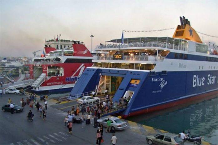Ξεκίνησε η μεγάλη έξοδος των αδειούχων από τα λιμάνια της Αττικής